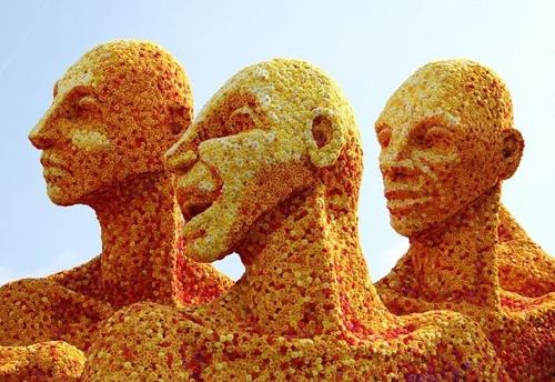 جشنواره مجسمه گل